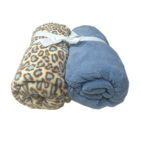 Cozy Fleece Microplush Fitted Crib Sheets (Set of 2)