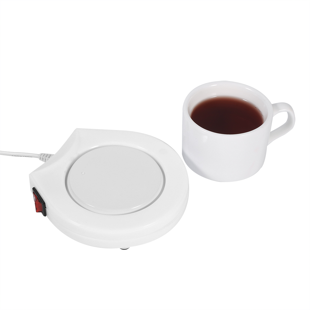 Heater Pad 110v White Electric Powered Cup Warmer Heater