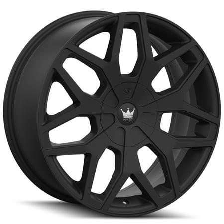 - Mazzi 367 Profile 20x8.5 5x110/5x115 +35mm Matte Black Wheel Rim 20