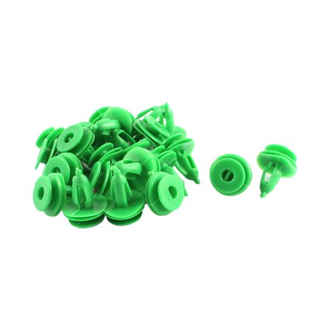 22Pcs Green Push-Type Moulding Retainer 7 x 17 x 16mm - image 1 of 1