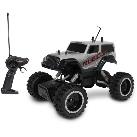 Nkok Mean Machines Rock Crawlers Rc Jeep Wrangler Walmart Com