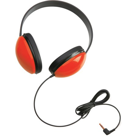 - Califone, CII2800RD, 2800 Listening First Stereo Headphones, 1, Red