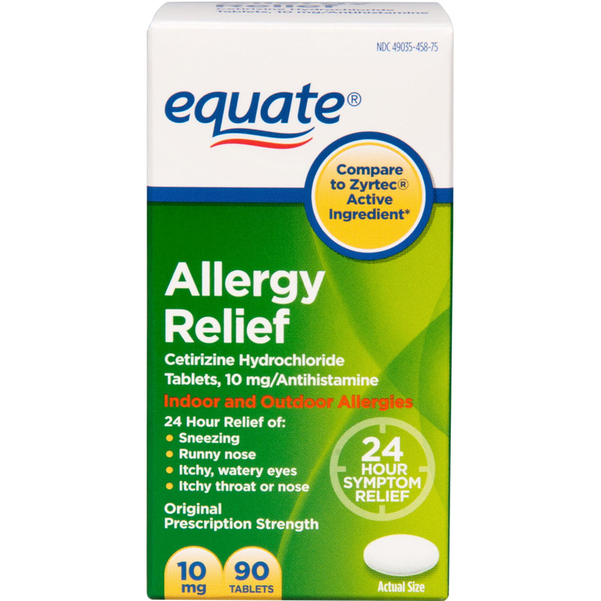 Cetirizine Allergy Medication