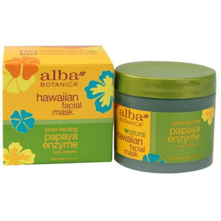 Papaya Enzyme Peel (Alba Botanica Hawaiian Facial Mask, Pore-fecting Papaya Enzyme 3 oz)