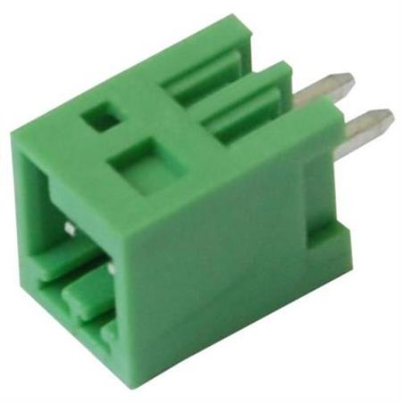 Imo Precision Controls Terminal Block Pcb Vertical 3 Pole 2 5Mm Pitch 2 Pack