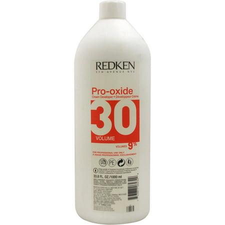 Redken Pro-Oxide Cream Developer - 30 Volume 9%, 33.8 Oz