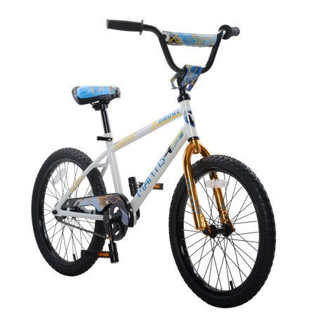 Growl White Ready2Roll 20 inch Kids Bicycle
