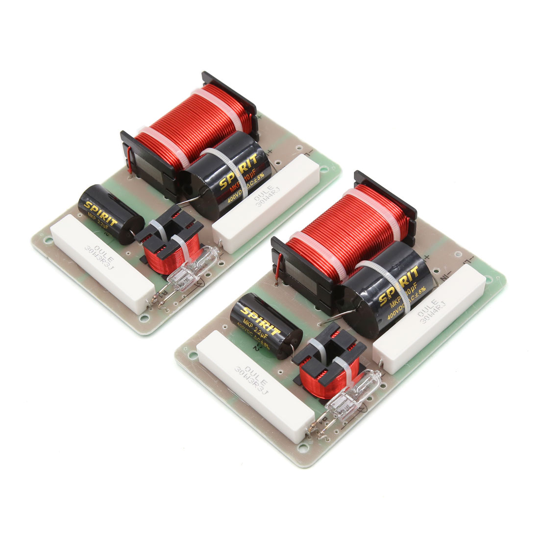 2Pcs 250W 2800Hz Motorcycle Car Audio Crossover Filter