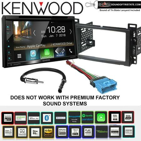 kenwood excelon ddx6905s dvd receiver install kit with apple carplay waze fits 2004 2007. Black Bedroom Furniture Sets. Home Design Ideas