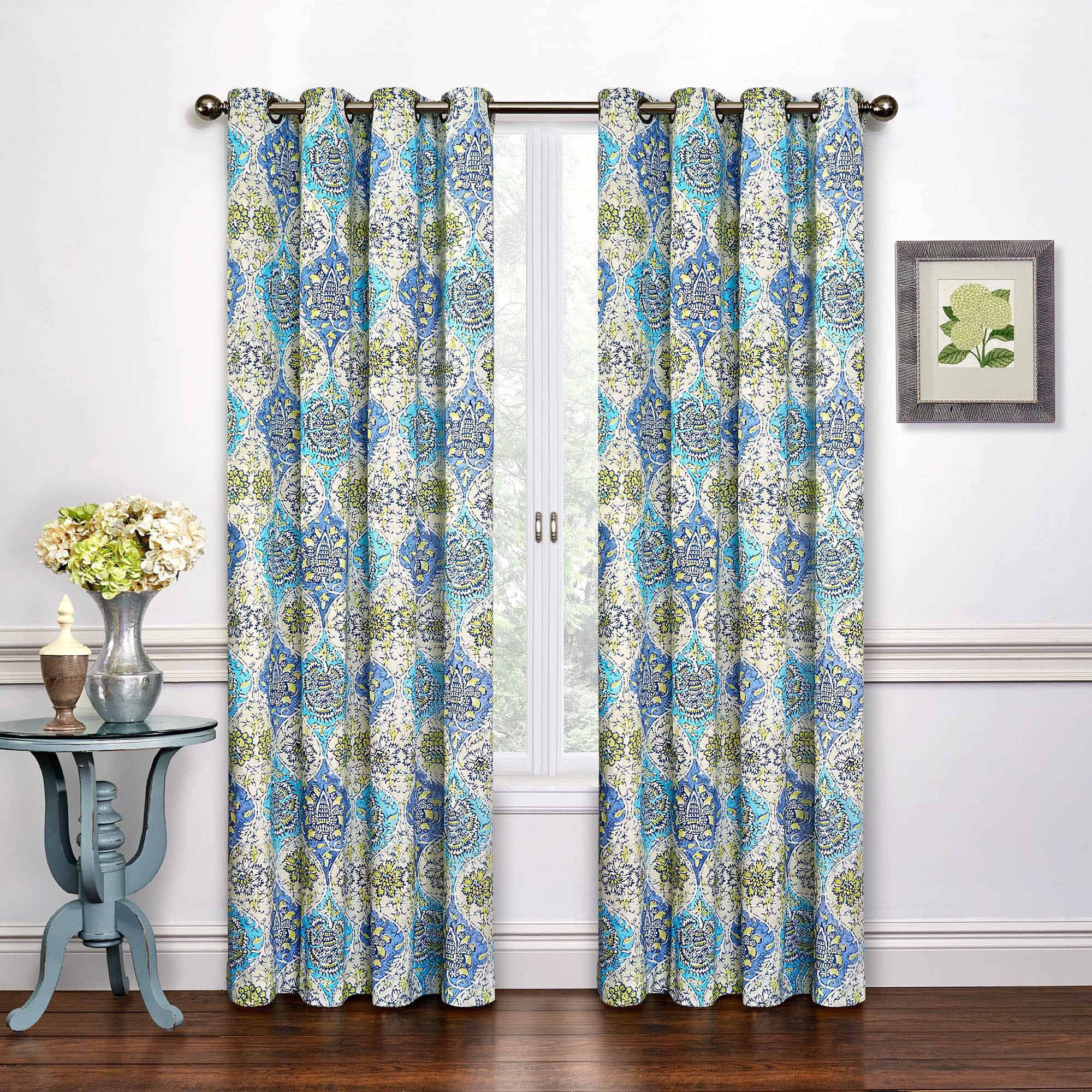 Teal curtain panels - Teal Curtain Panels 13