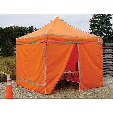 King Canopy S Orange Hi Visibility 10 X 10 Pop Up Canopy