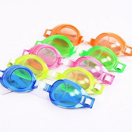 Adjustable Waterproof Anti Fog Cartoon UV Protection Swim Glasses for kid - image 4 of 5