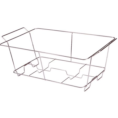 Full Size Chrome Wire Chafer Stand, Full Size Buffet Chafer Food Warmer Wire Frame, Stand, Rack - Full Size (1 Piece) By Tiger Chef