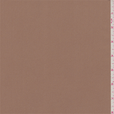 Suntan Brown Triple Georgette, Fabric Sold By the Yard ()