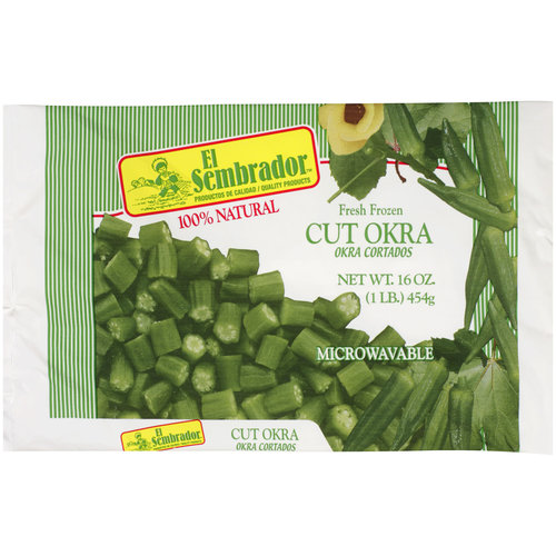 El Sembrador Fresh Frozen Cut Okra, 16 oz