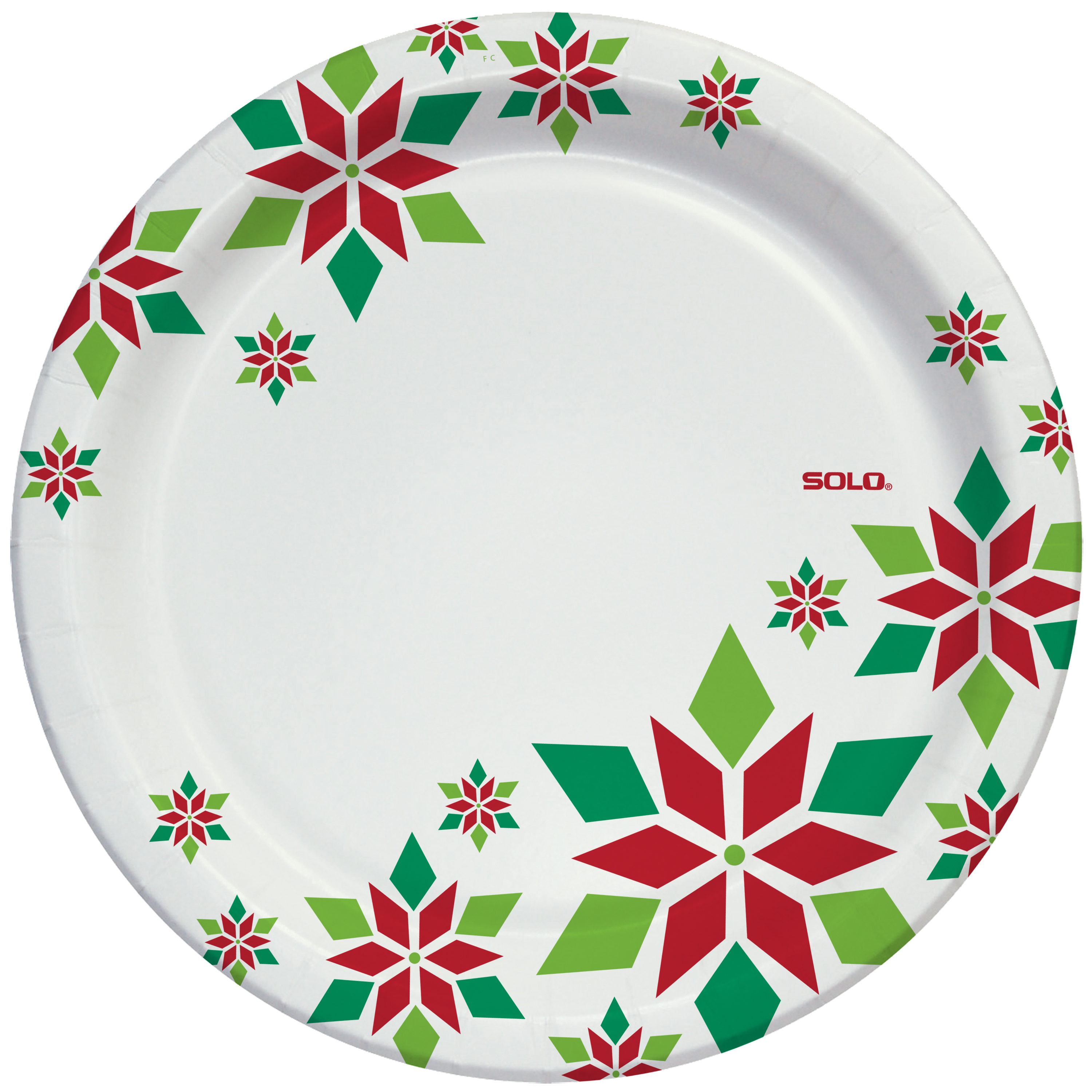 Solo Heavy Duty Holiday Paper Plates 10  22 Count Image 3 ...  sc 1 st  Walmart & Solo Heavy Duty Holiday Paper Plates 10