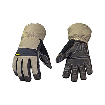 Youngstown Waterproof Winter Xt Insulated Gloves With Extended Gauntlet Cuffs, - Gloves With Gauntlets