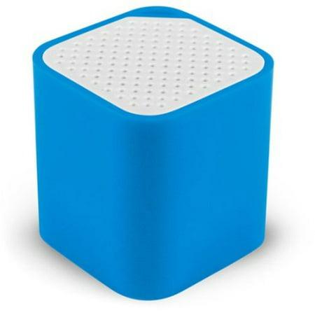 Groove Cube - The Smallest Speaker Ever - Wireless Bluetooth Speaker - Blue