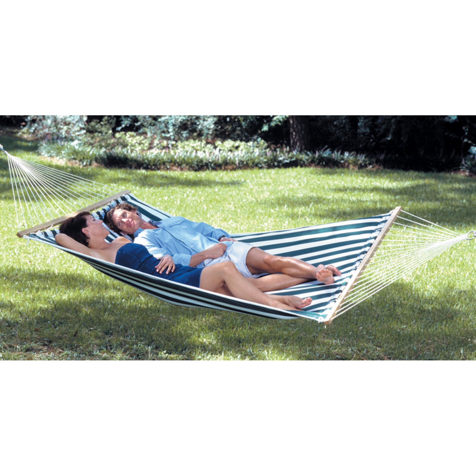 Texsport Lakeway Cotton Fabric Double Hammock by Tex Sport