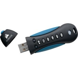 32GB FLASH PADLOCK SECURE USB 3.0 FLASH DRIVE WITH KEYPAD
