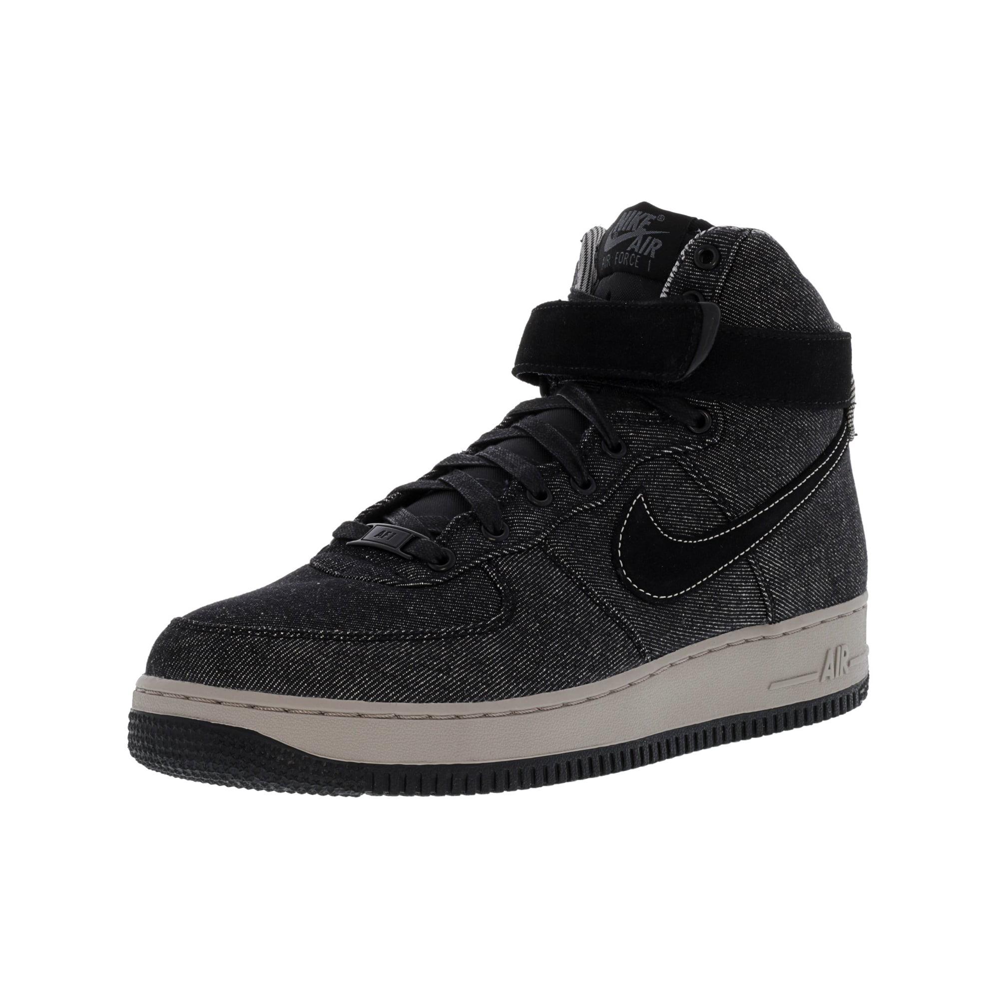 the best attitude 959d2 0bb89 Nike Women s Air Force 1 Hi Se Black   Dark Grey Cobblestone High-Top  Leather Basketball Shoe - 7.5M   Walmart Canada