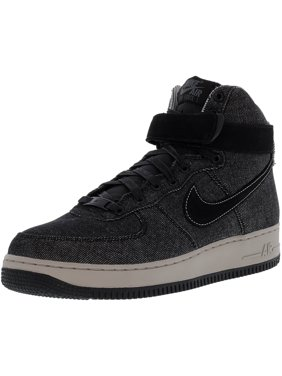 fb3b901ed840a Product Image Nike Women s Air Force 1 Hi Se Black   Dark Grey Cobblestone  High-Top Leather