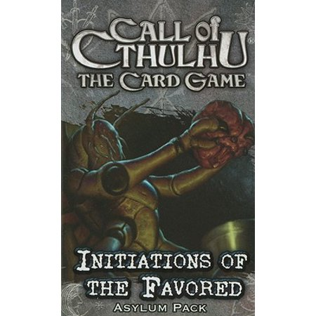 Initiations of the Favored Asylum Pack Call of Cthulhu LCG Fantasy Flight Games