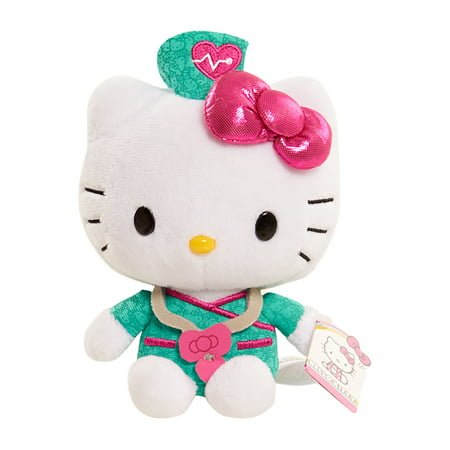 Hello Kitty Bean Plush - Nurse - Hello Kitty Nurse Plush
