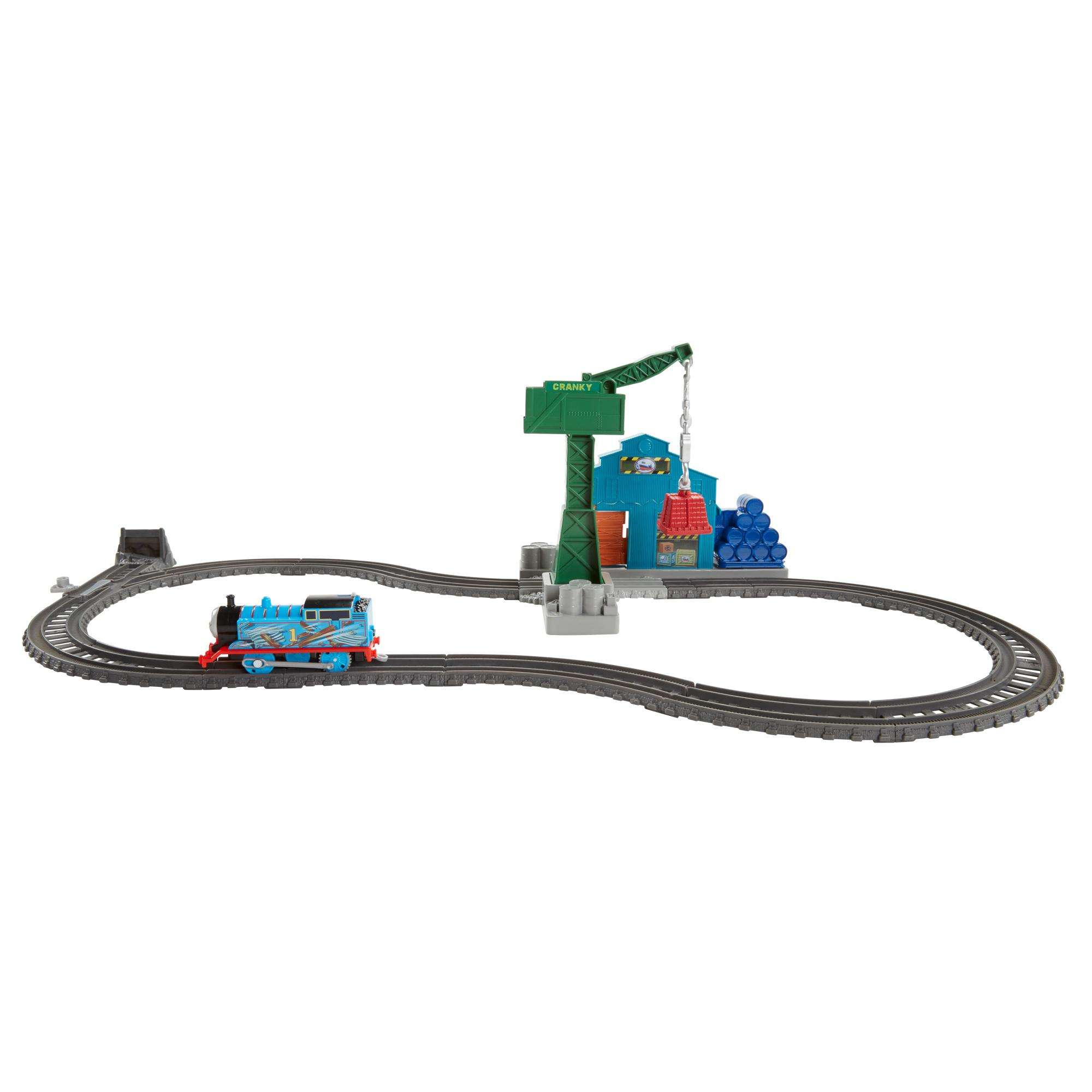 Thomas & Friends TrackMaster Demolition At the Docks by FISHER PRICE