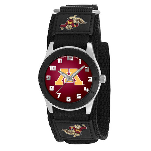 Game Time NCAA Minnesota Rookie Series Watch in Black