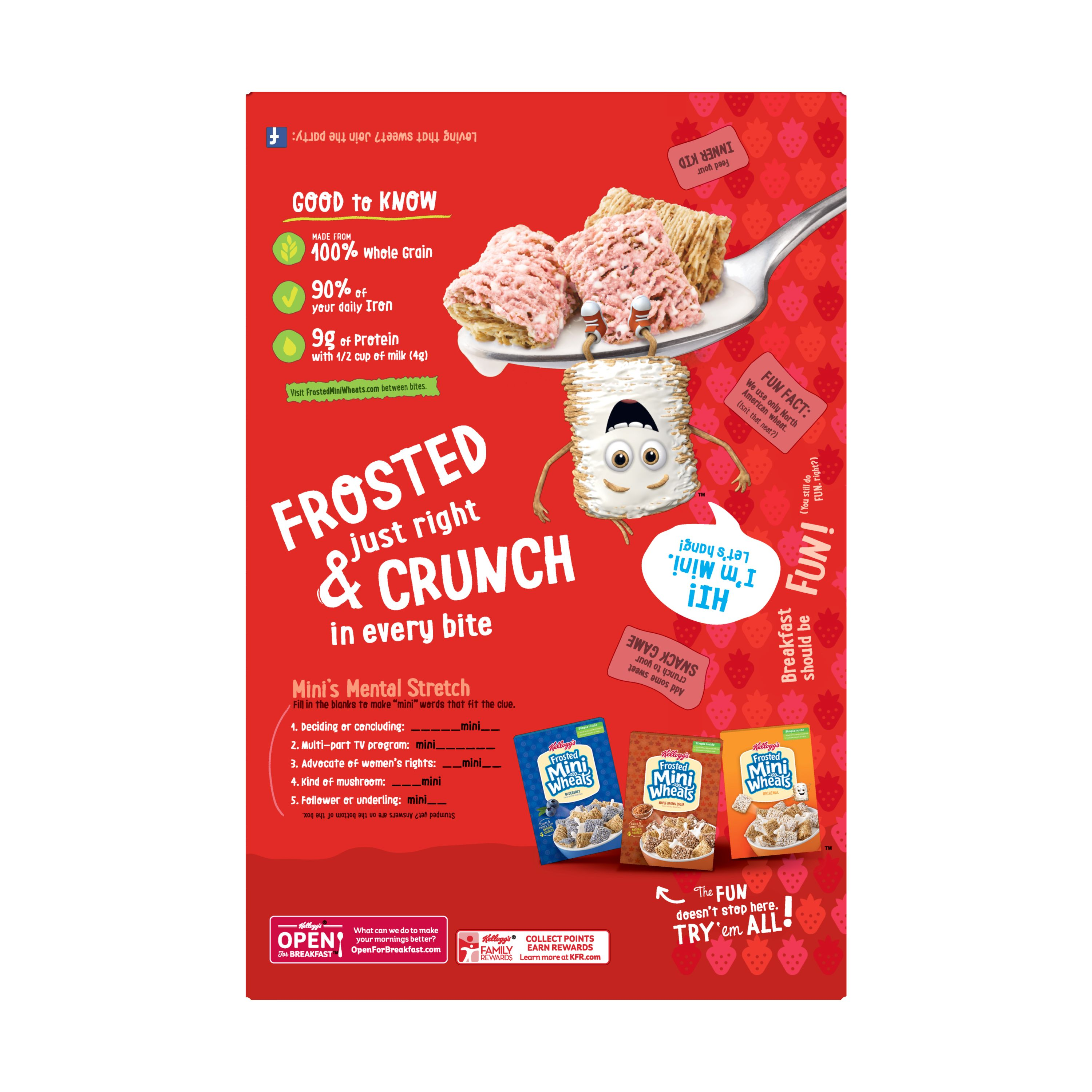 Frosted Mini-Wheats Strawberry