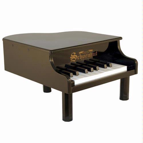 18 Key Mini Grand Piano - Black