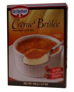 Creme Brulee Dessert Mix, 106g(3.7oz) by