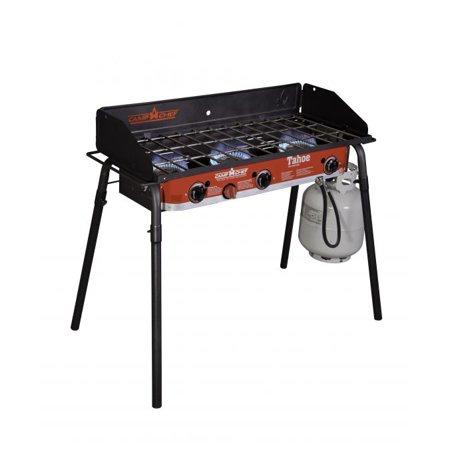 Camp Chef Tahoe Deluxe 3-burner Grill (Camp Chef Somerset Iii 3 Burner Cart Range)