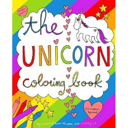 The Unicorn Coloring Book - Walmart.com