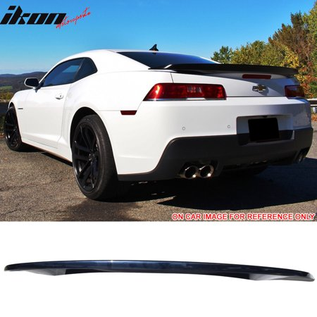 Fits 14-15 Chevy Camaro OE Style Low Blade Trunk Spoiler Wing - ABS