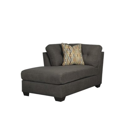 Ashley furniture delta city left arm chaise lounge in for Arm chaise lounge
