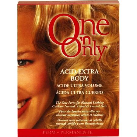 One N' Only Perm Acid Extra Body Kit (Pack of 6) (N1 Full Body Kit)
