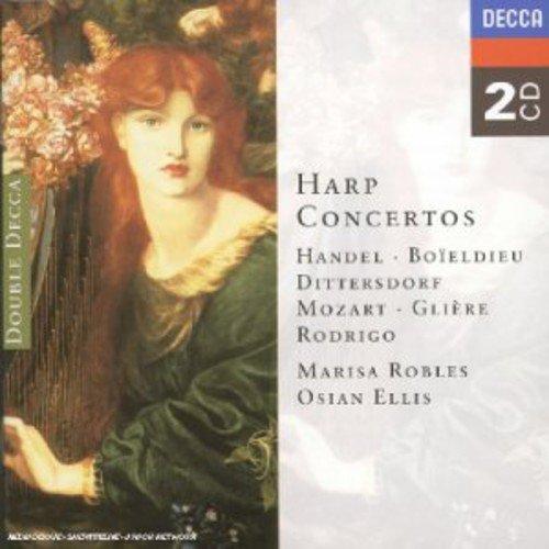 Robles / Ellis: Plays Harp Concertos