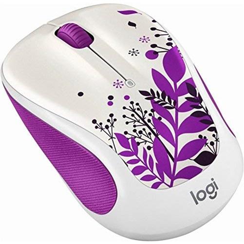 Logitech M325 Wireless 1000dpi Opical Mouse - Purple Peace