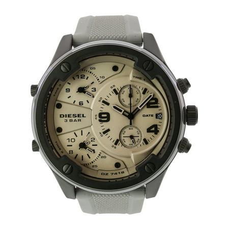 Diesel Men's Boltdown DZ7416 Grey Silicone Japanese Quartz Fashion Watch