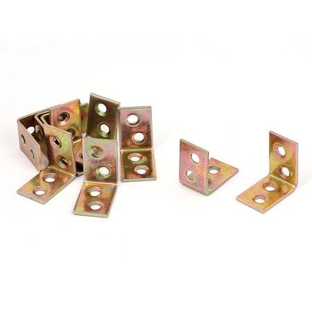 Timber Decking Joists Metal L Shaped 90 Degree Angle Brackets 26x26x16mm (Best Price Timber Decking)