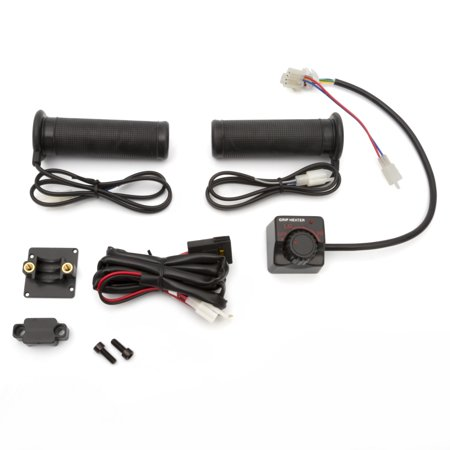 Kimpex Handlebar Grip - Kimpex 13.5 V Handlebar Grip Heater Kit 165137 Black  #165137