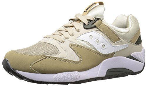 Saucony S70077-46 : Grid 9000 Running Shoes Mens Sand Tan by Saucony Originals