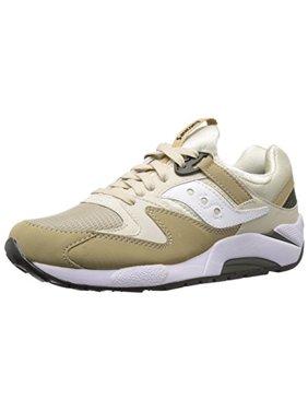 Saucony S70077-46: Grid 9000 Running Mens Sand/Tan Sneaker