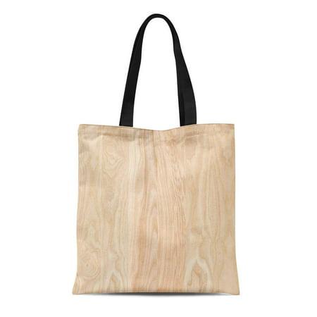 Hardwood Lumber Wood - KDAGR Canvas Tote Bag Hardwood Ash Wood Panel Tree Board Lumber Boarding Bolt Reusable Shoulder Grocery Shopping Bags Handbag