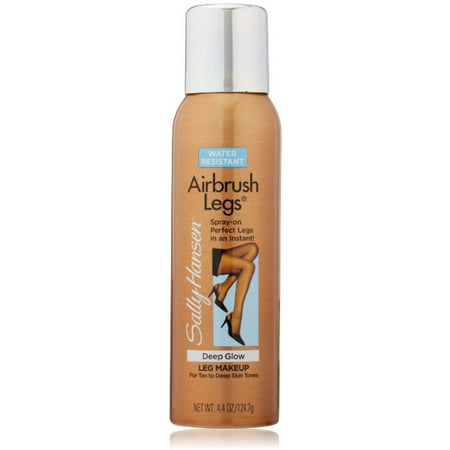 Sally Hansen Airbrush Legs Leg Makeup, Deep Glow 4.4 oz (Pack of