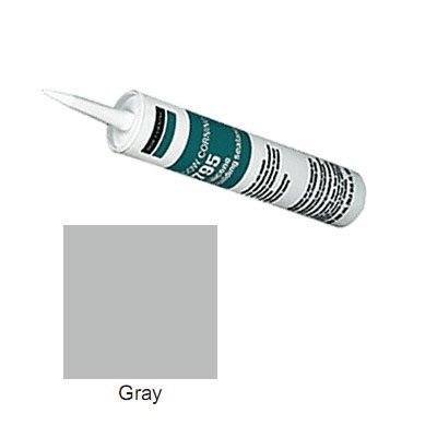 Dow Corning 795 Silicone Building Sealant - Gray Dow 111 O-ring Silicone
