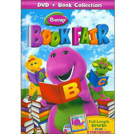 Barney: Book Fair (With Barney's Count To 10 Storybook) (Full Frame) - Barney's Halloween Party Dvd
