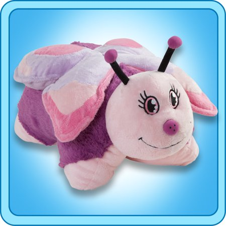 As Seen On TV Authentic Pee-Wee Pillow Pets Butterfly Purple 11